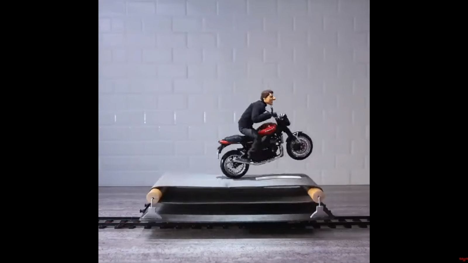 Tom Cruise stop motion